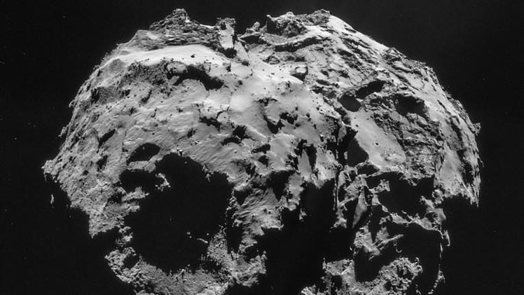 Fotos: Revelan dramático y accidentado paisaje del cometa 67P/Churiúmov-Guerasimenko