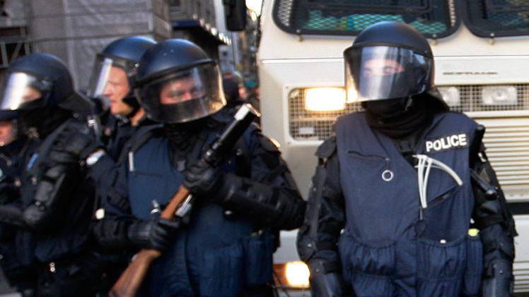 Hombre armado intenta robar un banco en Suiza