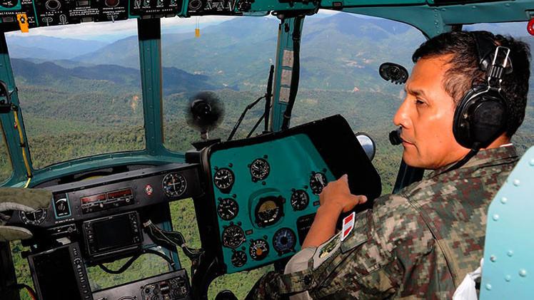 Video: El presidente peruano Humala prueba un helicóptero ruso MI 171 SH-P