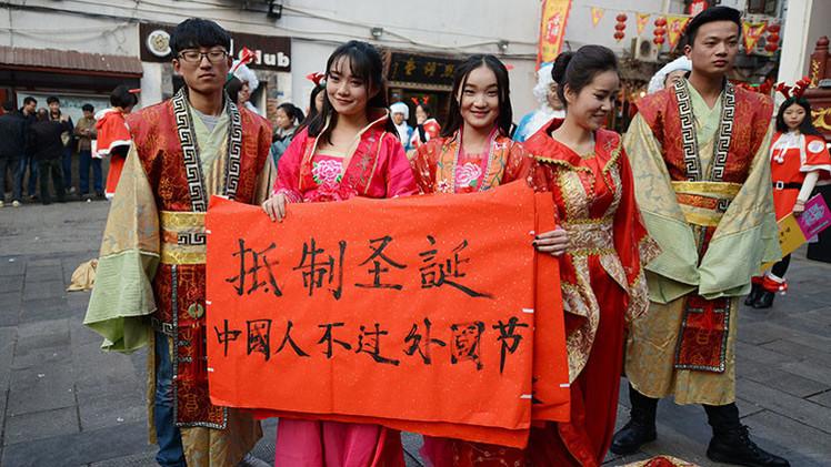 """Una ciudad china prohíbe la Navidad por ser una tradición """"'kitsch' occidental"""""""