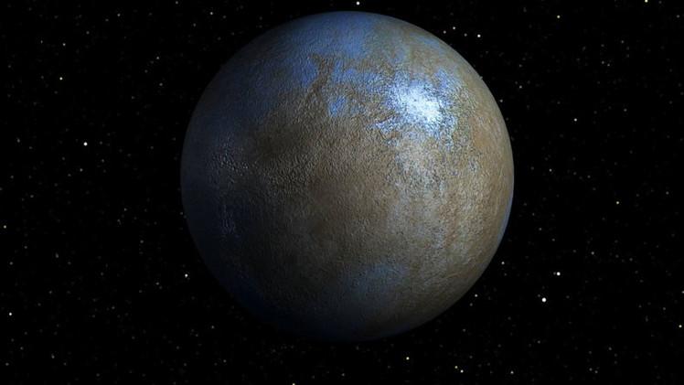 El planeta enano Ceres podría albergar vida extraterrestre