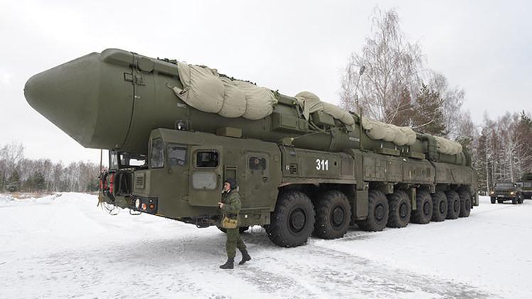 Rusia realiza con éxito un lanzamiento de prueba del avanzado misil balístico Yars