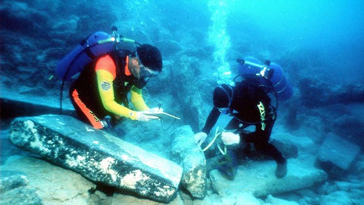 Hallan en la 'Atlántida' israelí la estructura de madera más antigua