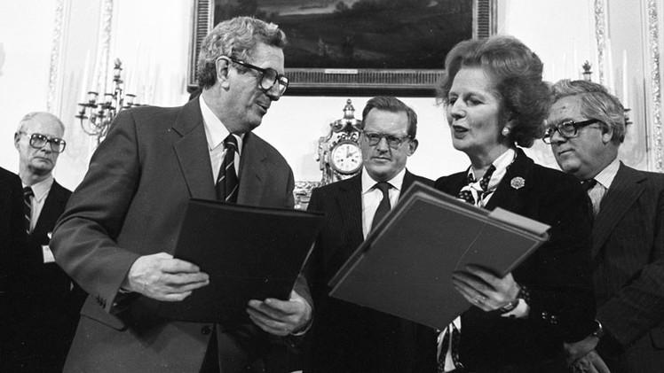 Revelación: Margaret Thatcher temía un levantamiento asiático
