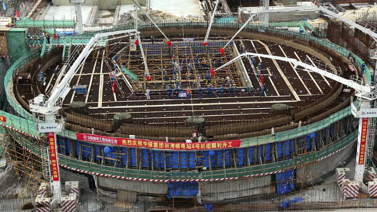 Rusia y China consideran la creación de nuevas unidades en la central nuclear de Tianwan