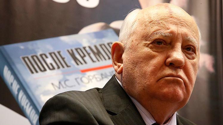 """Gorbachov reveló cuál es """"el mayor mérito de Putin"""""""