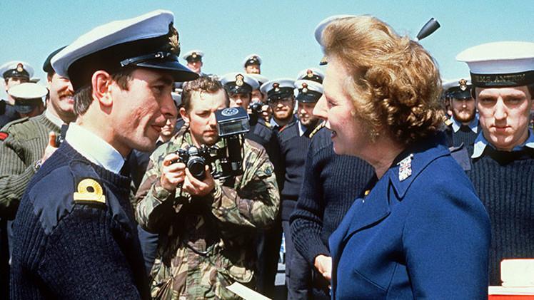 Argentina se indigna por una estatua de Margaret Thatcher en las islas Malvinas