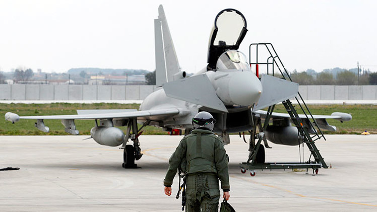 Eurofighter Typhoon, una imagen ilustrativa
