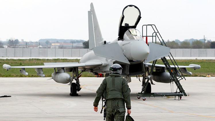 Aviones militares de Italia vigilarán las fronteras de los países bálticos