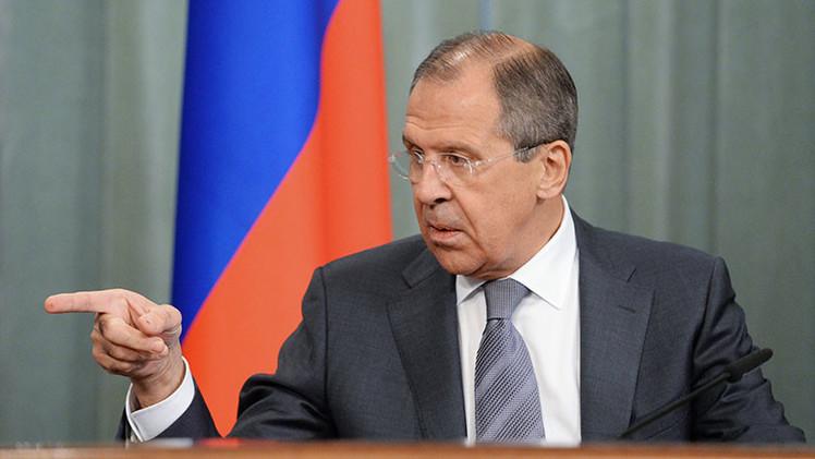 """Lavrov: """"Nadie ha podido ni podrá subordinar a Rusia para resolver sus problemas"""""""