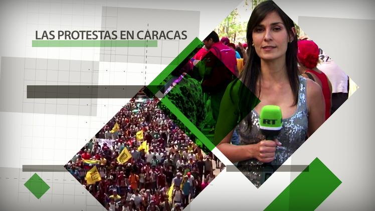 Fuera de cuadro: Las protestas en Caracas