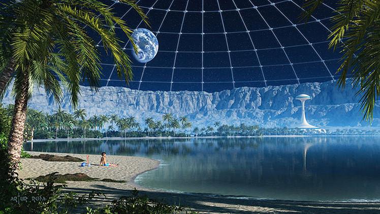 Rusia: la creación de la primera base lunar habitable costará 550 billones de rublos