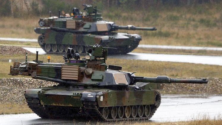 El Ejército de EE.UU. planea estacionar 150 tanques y vehículos blindados en Europa