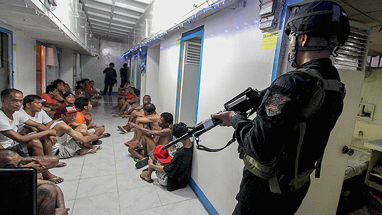 Se reveló en Filipinas cómo viven los encarcelados