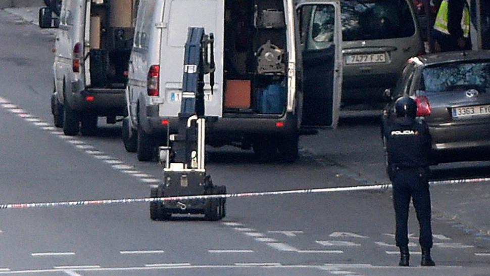 El robot TEDAX