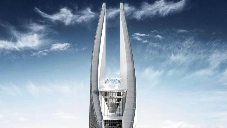"""""""Torre de la Luz"""", el futuro edificio más alto de África"""