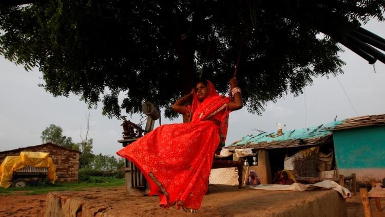 La India. La 'boda vegetal' para prevenir una desgracia cósmica