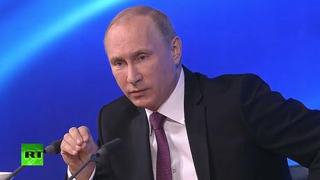 Putin: Es inevitable que la economía rusa supere la actual situación