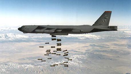 Foto ilustrativa de un bombardeo