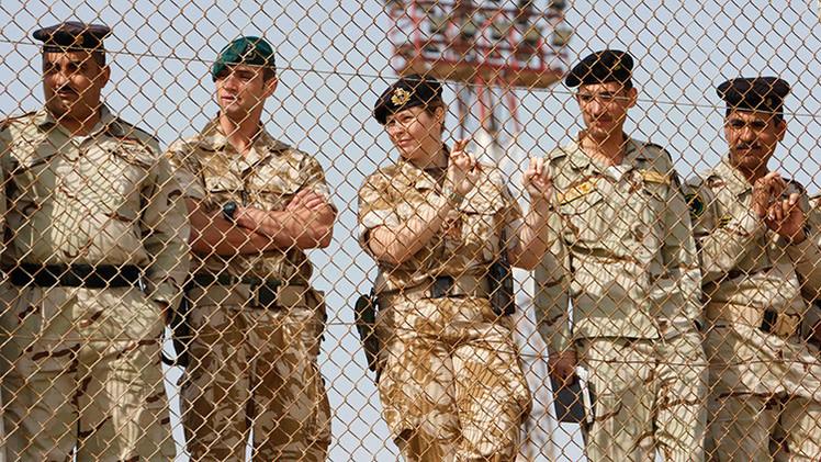 Las tropas británicas regresan a Irak en 2015 para luchar contra los yihadistas
