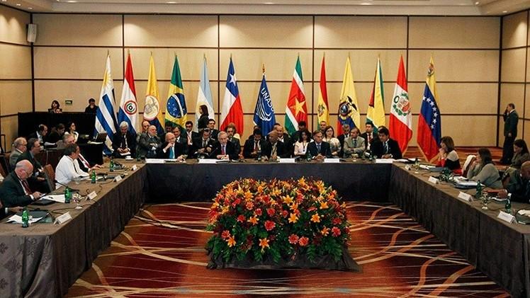 UNASUR rechaza las sanciones contra Venezuela