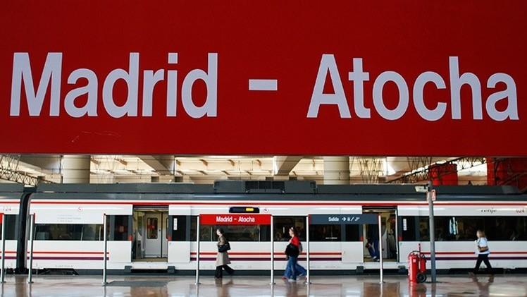 España: Desalojan la estación madrileña de Atocha y un tren ante una posible bomba