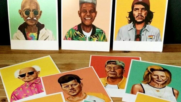 Los líderes mundiales convertidos en hipsters