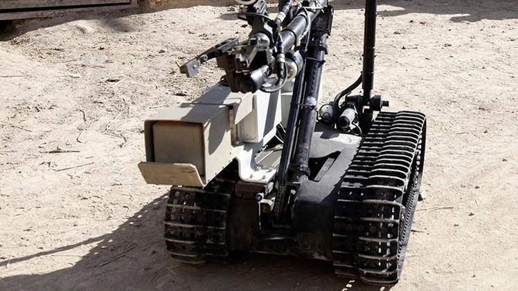 El Ejército ruso pondrá a prueba robots de combate