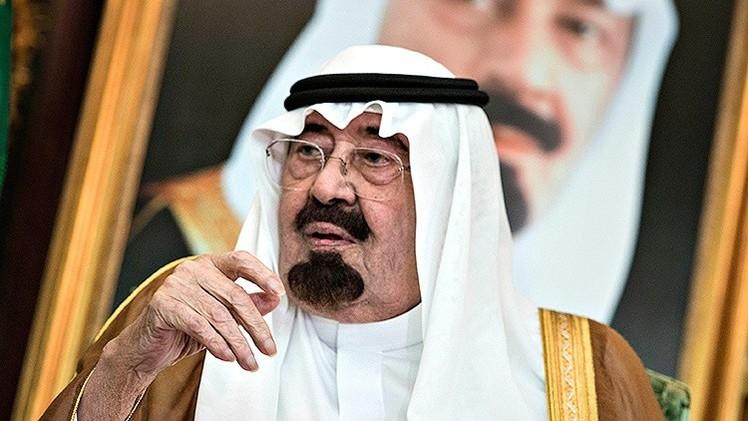 Arabia Saudita anuncia que el rey saudí Abdullah tiene neumonía