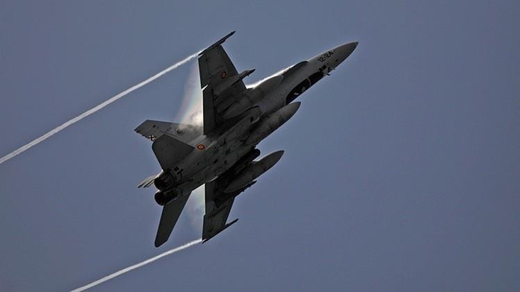 Cazas españoles patrullan el cielo de los países bálticos por su acuerdo con la OTAN