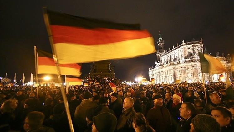"""Marchas antiislámicas alemanas: ¿un nuevo """"Maidán"""" en Dresde?"""