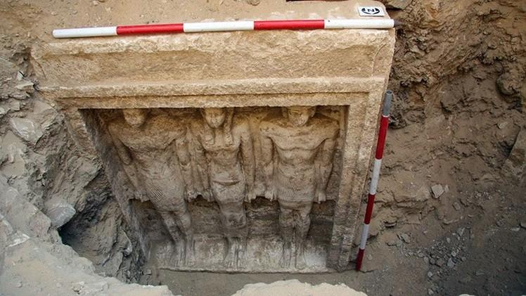 Descubren en Egipto la tumba de una reina desconocida de 4.500años de antigüedad