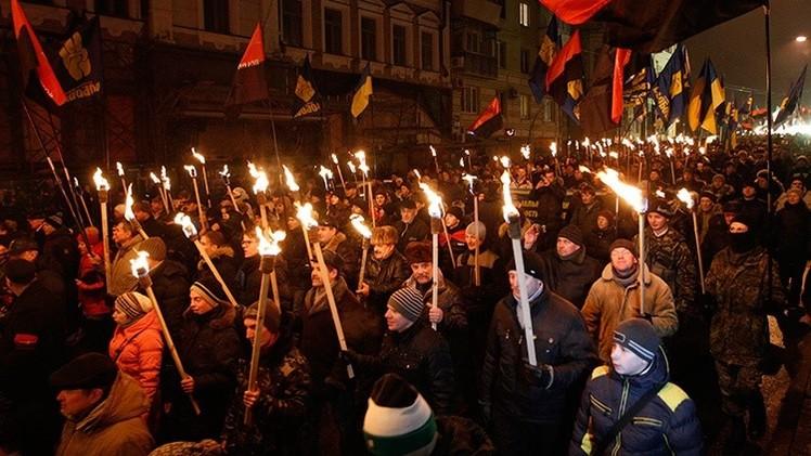 El presidente checo compara una marcha nacionalista en Ucrania con las de los nazis