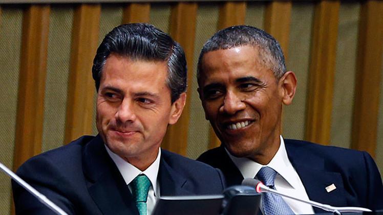 Enrique Peña Nieto y Barack Obama en una reunión multilateral