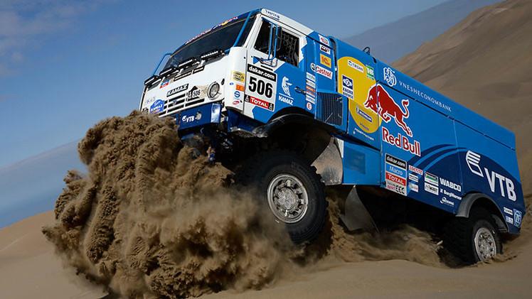 Segunda etapa del Dakar 2015: los Kamaz rusos encabezan la clasificación de camiones