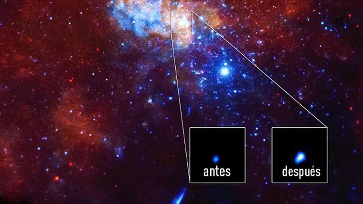 Destello enigmático desde un agujero negro de nuestra galaxia deja perplejos a los científicos