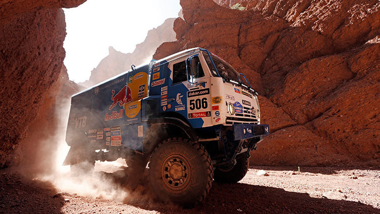 Tercera etapa del Dakar 2015: los Kamaz rusos lideran la general de camiones