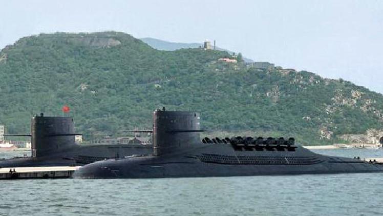 El submarino chino tipo 096 puede atacar a EE.UU. desde la costa de China