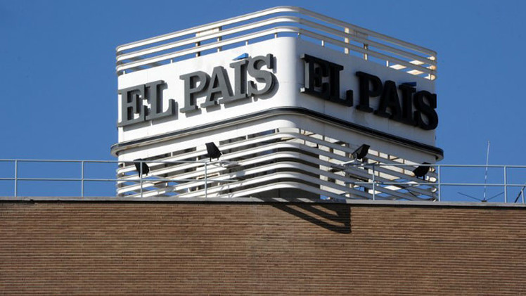Desalojan la sede de 'El País' en Madrid por un paquete sospechoso