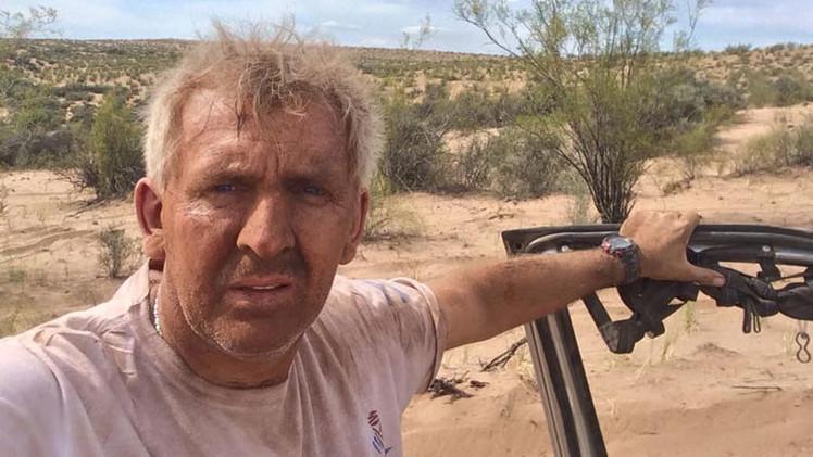 Rally Dakar 2015: Amargo relato de piloto que tuvo que beber su orina para sobrevivir