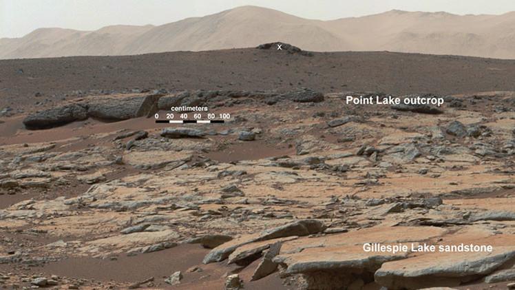 Hallan 'fósiles' en Marte, ¿prueba de la existencia de vida en el planeta rojo?