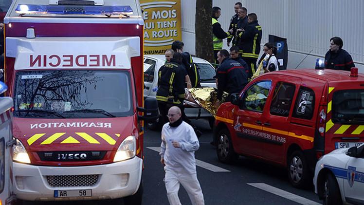 Una policía muerta en un tiroteo en el sur de París