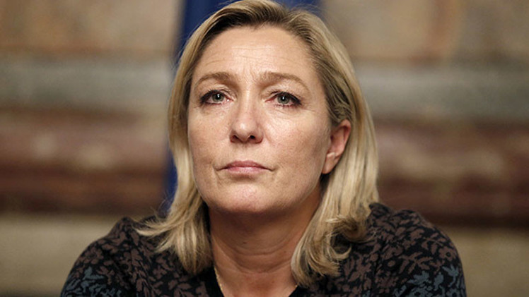 Marine Le Pen propone introducir la pena de muerte tras el ataque a 'Charlie Hebdo'