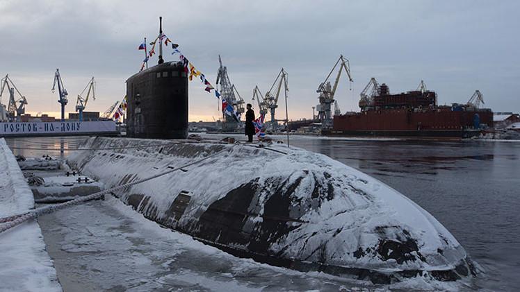 VIDEO: Rusia envía su 'agujero negro' al Ártico para pruebas en aguas profundas