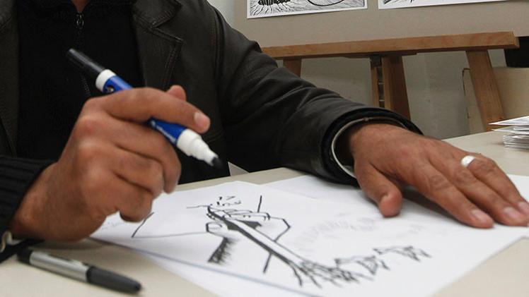 Artista francés promete hacer caricaturas del profeta Mahoma todos los días durante el 2015