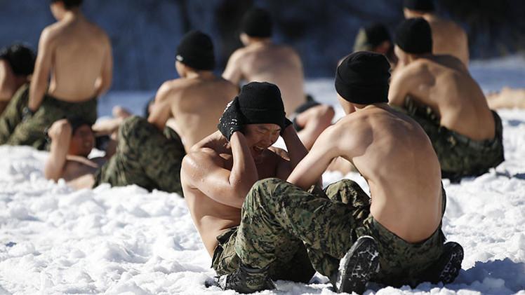 FOTOS: Extremo entrenamiento invernal de las fuerzas especiales de Corea del Sur