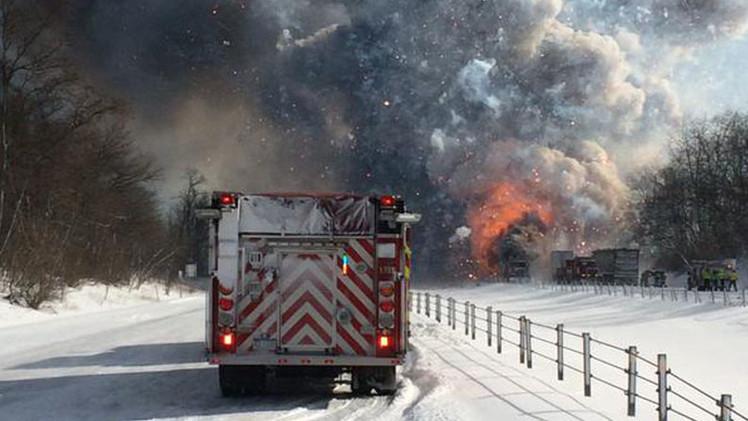 Impactantes videos: Colisión fatal de casi 200 vehículos en EE.UU.