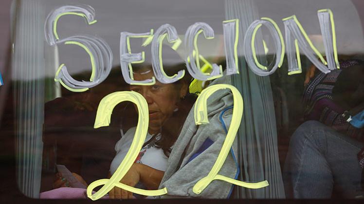 Protestas en México: maestros toman aeropuertos y gasolineras en Oaxaca
