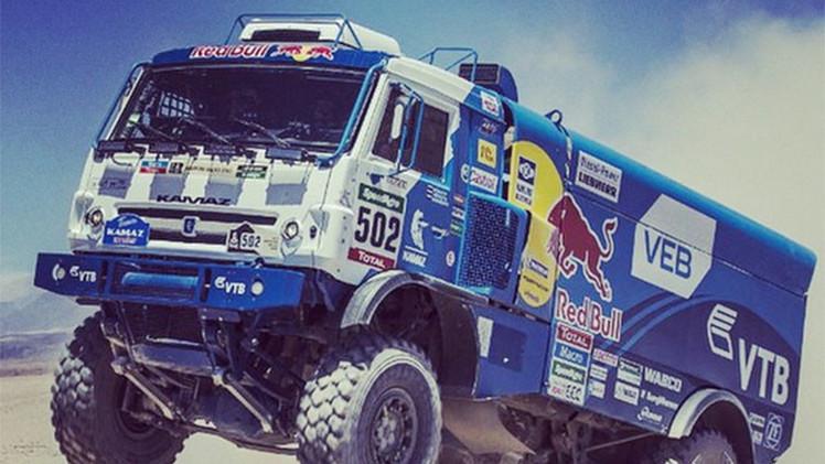 Dakar 2015: Kamaz finaliza tercero en la 7.ª etapa pero sigue acaparando la general de camiones