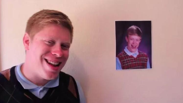 El 'hombre meme': 'Brian mala suerte' cuenta su increíble historia